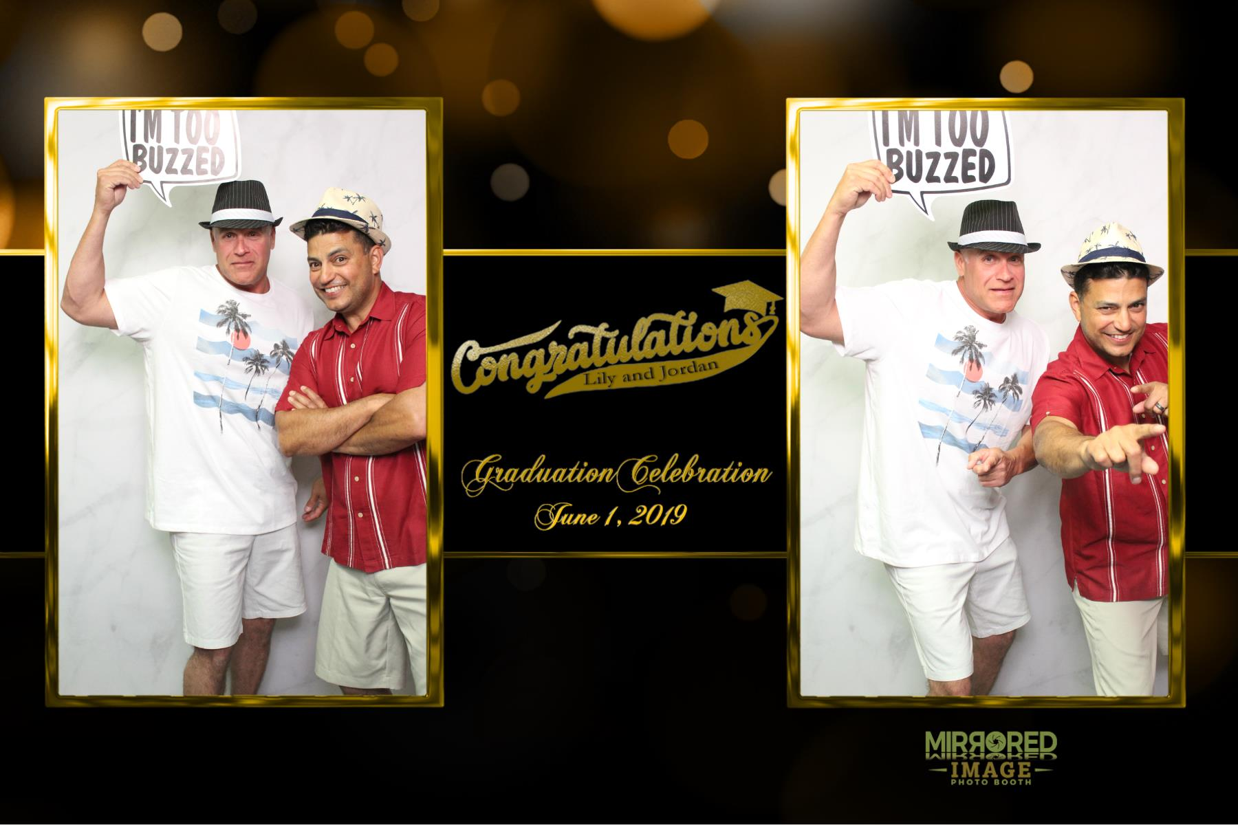 mirrored image grad party